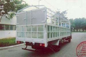 Xe tải veam VT490 sử dụng động cơ hyundai -...