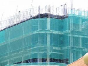 Lưới bao che xây dựng, lưới chắn bụi công trình