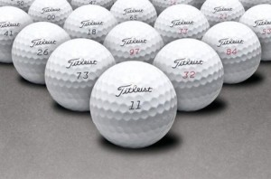 Combo 12 bóng golf hiệu titleist pro