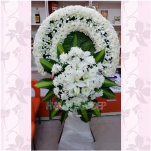 Vòng hoa tang lễ - TL074