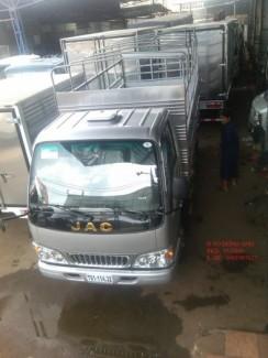 Xe tải jac hfc1030k4 2.4 tân -xe vào thành phố |  jac 2 tấn 4 động cơ isuzu