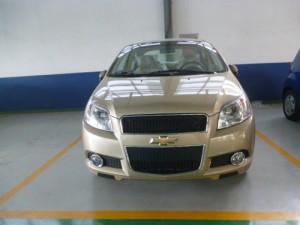 Chevrolet Aveo LTZ màu vàng cực đẹp giá rẻ