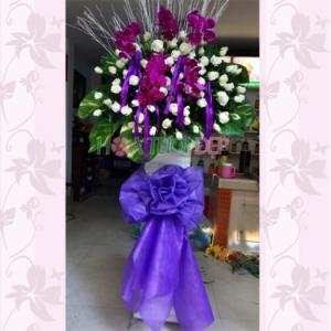 Lẵng hoa tang lễ - TL080