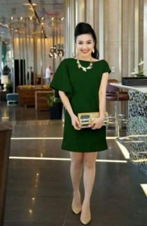 Đầm suông tay cách điệu giồng Lê Khánh