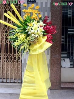 Hoa tươi mừng khai trương - KT074