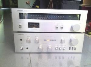 Ampli Technics SU Z1 và TechnicsTuner ST Z1...
