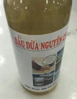 Dầu Dừa Bến Tre Nguyên Chất Gía Tốt Tại Sài Gòn.
