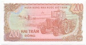 200 Đồng 1987 số lớn