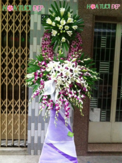Hoa tang lễ - TL035