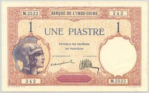 1 Piastres 1921-1931