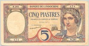 5 Piastres 1926-1931