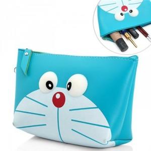 Túi đựng mỹ phẩm cầm tay silicon hoạt hình cực dễ thương - MSN183023