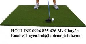 Thảm tập golf, thảm phát bóng golf, thảm có chơi golf