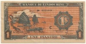 1 Piastre 1942-1945