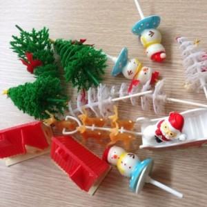 Combo sản phẩm trang trí bánh Noel