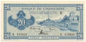 20 Piastres 1942-1945