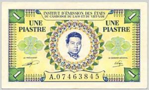 1 Piastre 1953