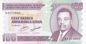 Tiền Burundi