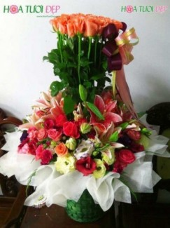 Hoa mừng sinh nhật - GSN026