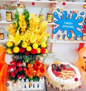 Hoa chúc mừng sinh nhật - GSN045