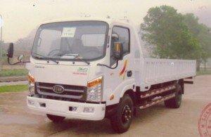 Xe tải VEAM VT340s thùng lửng thùng dài 6m2