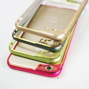 Khung viền IPhone Hoa Mai Tinh Xảo + Kính Cường Lực