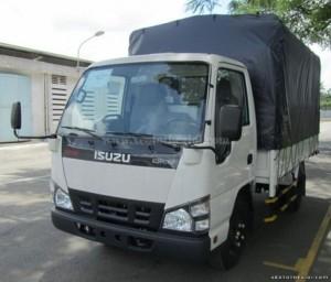 Bán Xe tải isuzu 1.4 tấn QKR55F thùng kín, phủ bạt 2016