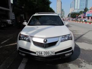 Acura MDX 2011 màu trắng