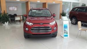 Ford Ecosport Titanium màu đỏ đậm, tặng bảo...