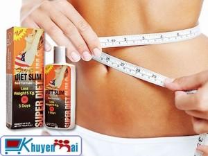 Kem Tan Mỡ Super Diet Slim từ Mỹ