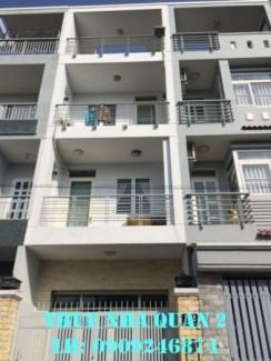 Cho thuê nhà phố khu C An Phú Quận 2, trệt 2...