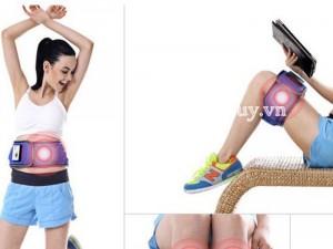 Đai massage giảm mỡ bụng không dây pin sạc X5