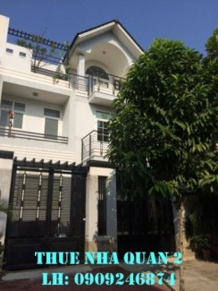 Cho thuê villa Dương Văn An, Quận 2, giá cho thuê: 50tr/tháng
