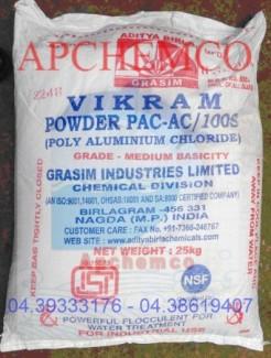 PAC (Poly Amonium Chorite) hàng ấn độ, hàng mới chất lượng cực tốt