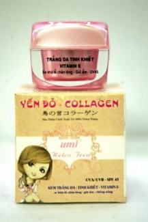 Kem Yến Đỏ Collagen hộp 20g