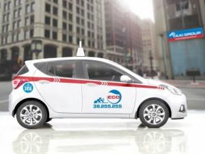 Taxi Group ECo thế chấp 6 tr, tiết kiệm nhiên liệu