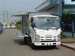 Xe tải isuzu NLR55E 1.4 tấn nhập khẩu Nhật bản