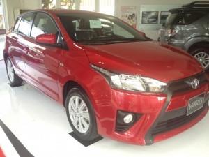 Tin Hot '' Toyota Yaris 1.5G Màu Đỏ, Giảm giá vốn giao xe ngay tại Toyota An Thành Quận 5