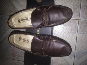 Giày da handmade nguyên chiếc CP