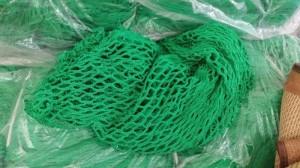 Lưới an toàn chống vật rơi màu xanh lá , xanh dương, lưới dù an toàn 10cm