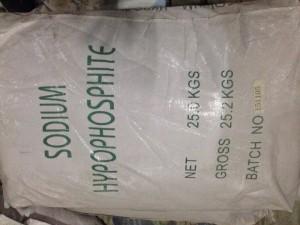 Bán Natri Hypophosphite - Sodium Hypophosphite - NaH2PO2.H2O cho mạ niken, phụ gia xây dựng