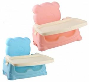 Ghế ngồi ăn cho bé Teddy màu xanh dương