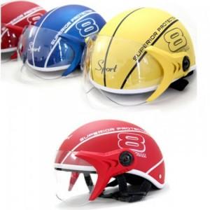 Mũ bảo hiểm Sport Superior có kính màu vàng