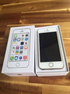 Iphone 5s gold 16g full box like new