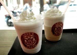 Ly nhựa đựng trà sữa , đá xay in logo cực đep