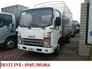 Xe tải JAC 3.45 tấn mui bạt