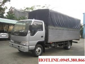 Xe tải JAC 4.9 tấn giá cực tốt, ưu đãi khủng