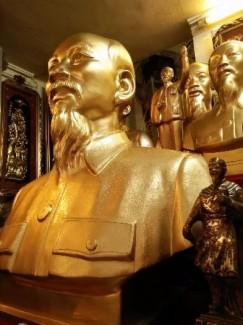 Tượng bác Hồ bán thân cao 70cm.hàng có sẵn bán với giá rẻ nhất Sài Gòn