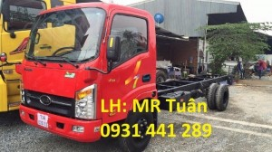 Xe tải veam 1 tấn 9 máy hyundai