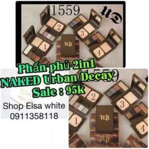 Phấn phủ 2in1 NAKED Urban Decay